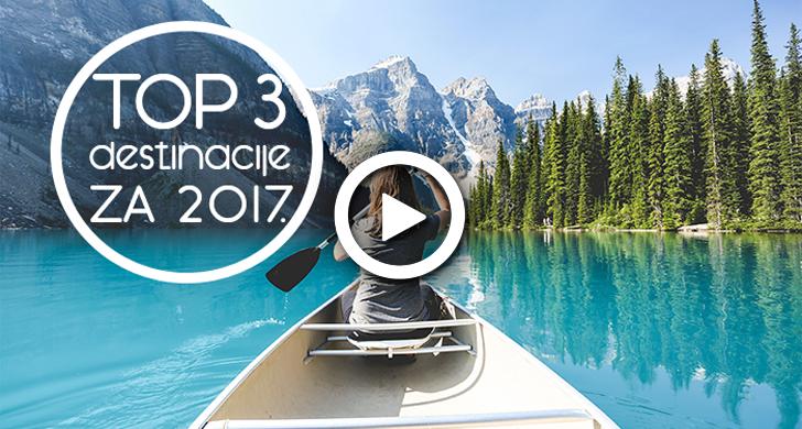 top destinacije 2017