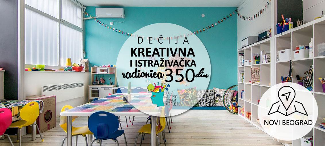 kreativna učionica kefalište