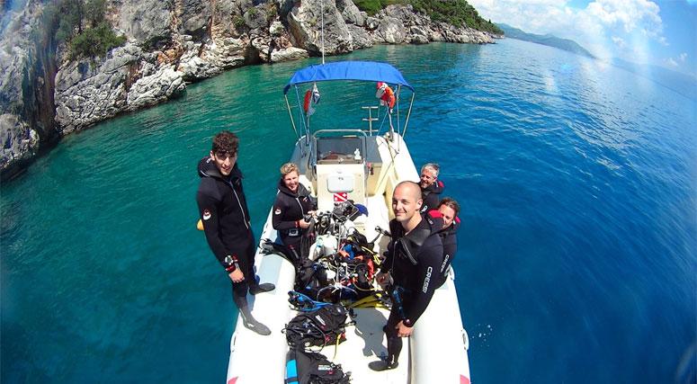 destinacije za ronjenje u grčkoj
