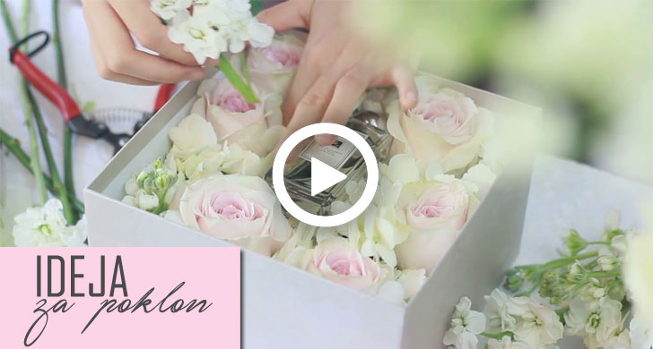 kutija sa cvećem